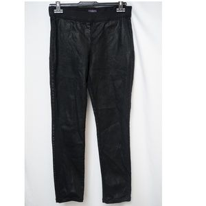 NYJD Black Wax Coated Skinny Fit legging Sz 8P